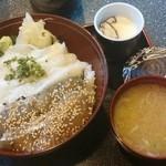 寿し茶屋海旬亭 - 二色丼¥1200