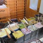 福田パン - パンに塗るものは35種類もある
