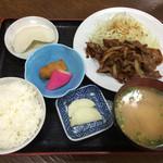 和 - 生姜焼き定食