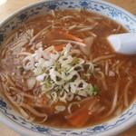 食堂関山 - サンマー麺
