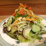 サンジャック -  【生野菜メラージェサラダ】¥500