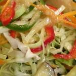 サンジャック - フランス語で混合という意味とメラージェ〜  いろんな種類のお野菜があります