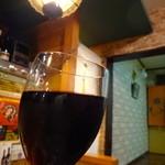 サンジャック - 【グラスワイン】¥500  美味しい〜♫