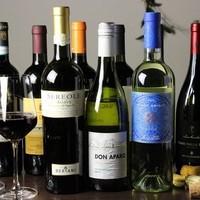 お酒各種、豊富に揃えております。