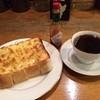 カフェコンティニュー - 料理写真:チーズトースト、ブレンド