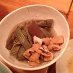 土佐酒蔵 - イタドリ煮付け