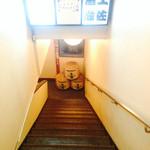 土佐酒蔵 - 地下への階段