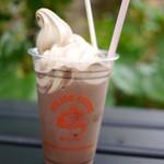 ミカド珈琲 - アイスココアフロート