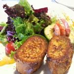 Audi Delight Cafe - 海老とアボカドのパンペルデュ