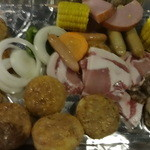 都会の農園 バーベキューテラス - バーベキューの食材