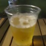 都会の農園 バーベキューテラス - 生ビール