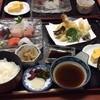 いけ洲 山家 - 料理写真:天刺定食   美味い!     腹いっぱいだ。