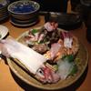 旬魚旬菜 月○ - 料理写真:イカが一杯丸ごとついてる刺身盛り合わせ
