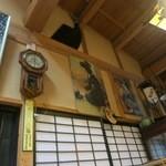 丸西屋 - 店内は田舎の風情です。