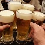 居酒屋茶々 - かんぱ~い