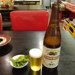 三友軒 - ビール大瓶600円