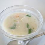 ウリウリカフェ - セットのお野菜スープ