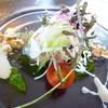 中国料理 仙雲 - 料理写真:天然真鯛の刺身 広東スタイル ナッツの食感が良い!