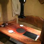 焼肉 マル - 本日座ったテーブルです(≧∀≦)ノ
