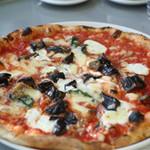 La・Terrazza - リコッタチーズと長茄子のピザ ¥2000