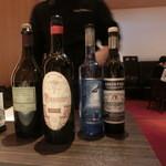 レストラン ラ フィネス - 「食後酒お選びください」てか・・