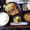 キッチンハイツ - 料理写真:生姜焼き定食1,200円
