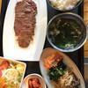 焼肉ヒロシ - 料理写真:宮崎牛特上ロース定食¥2000-