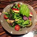 金魚 - 本日の島野菜サラダ