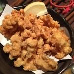 金魚 - ミミガーの唐揚げ