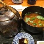 おひつ膳 田んぼ - お味噌汁