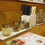 SOUL麺 - 卓上