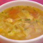 タムタム - ランチのスープ