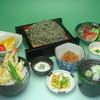 佐吉 - 料理写真:限定よもぎ蕎麦