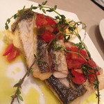 ミリオンダラー カフェ - 料理写真:本日の鮮魚(サゴチ)のグリル