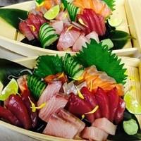 うまい≪魚≫舟盛り刺身は大人気!!
