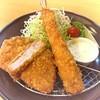 咲咲亭 - 料理写真:ロース&エビフライ