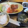 Eight - 料理写真:赤城鶏の鶏もも唐揚げ定食 880円