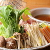 鮨酒肴場 黒かべ - 料理写真:暖か鍋コース