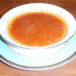れすとらん メナージュ - コースのスープ