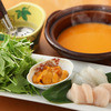 海栗屋  - 料理写真:うにスープの「元祖うにしゃぶ」