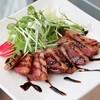 cafe & BAR ESSENCE - 料理写真:合鴨のスモーク バルサミコソース