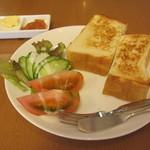 杉本珈琲店 - モーニングセット 515円