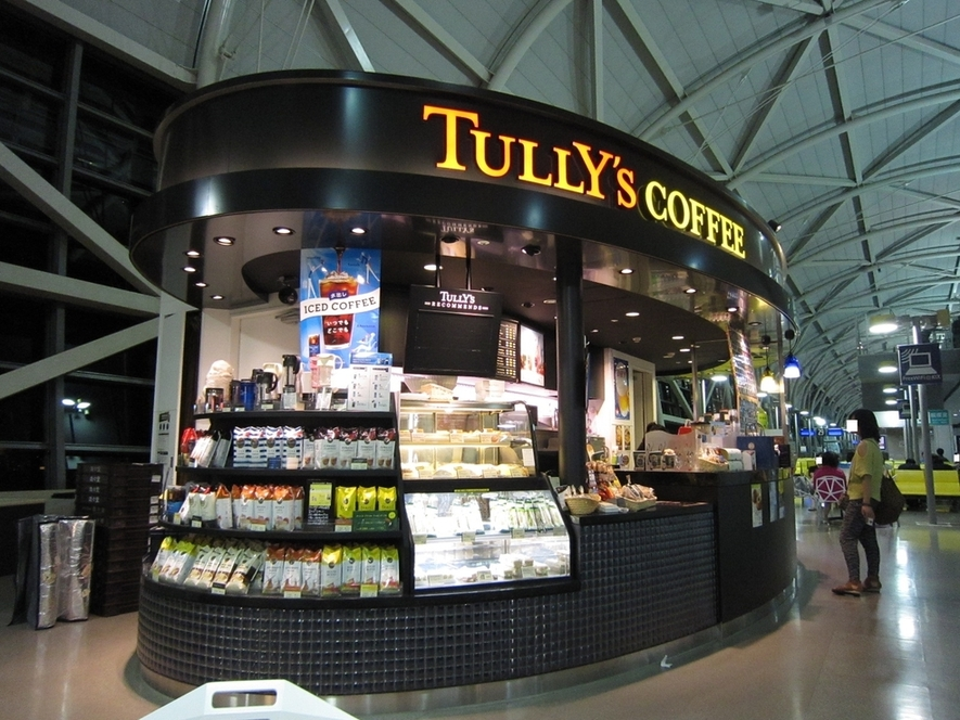 タリーズコーヒー 関西空港南ウィング店