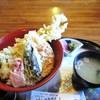四季亭 - 料理写真:今回は アナゴ天丼