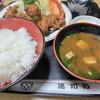 遠州路 - 料理写真:若鶏から揚げ定食1.100円
