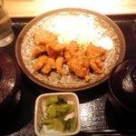テング酒場 - 唐揚セット 500円(税込)