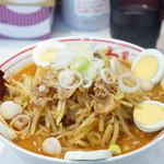 蒙古タンメン中本 - 味噌卵麺 意外と辛い