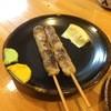 まる助 - 料理写真:鴨肉入りつくね2本 300円