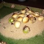 居食亭 あじまる - 銀杏の塩炙り(オススメで普段はないようです)