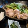 村民食堂 - 料理写真:鶏の塩麹蒸し定食